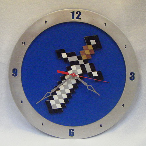 minecraft how to build a clock