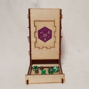 D20 Dice Tower