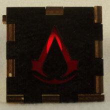 Assasins Creed LED Gift Box red