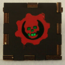 Gears of War LED Gift Box green