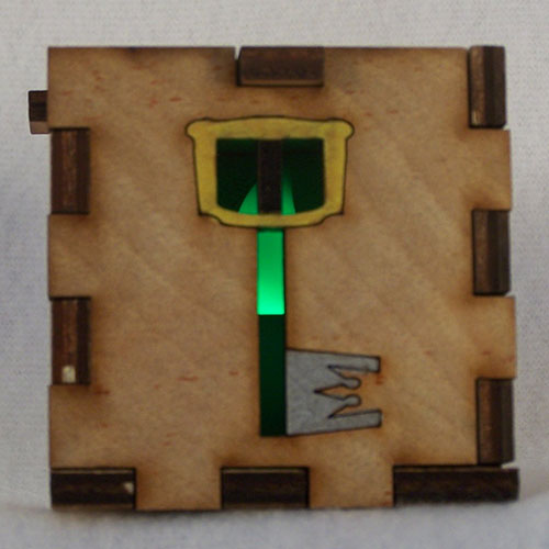 Kingdom Key Lit Green