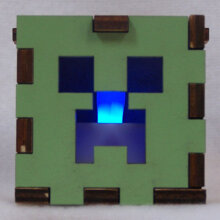 Minecraft Lit Blue