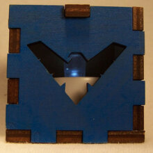 Nightwing LED Gift Box blue