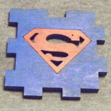 Superman LED Gift Box