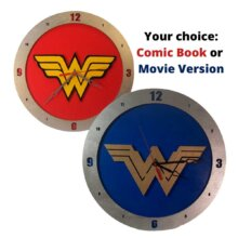 Wonder Woman Clock