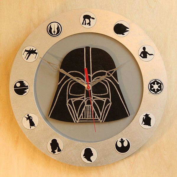 Darth Vader Disc Clock Altruistic