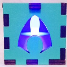 Aquaman LED Gift Box blue