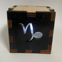 Capricorn Tea Light Box White Light