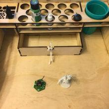 Paint Tray Set Up