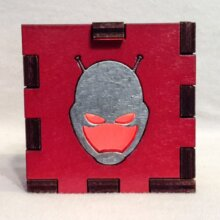 Antman LED Gift Box Red