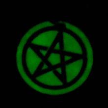 Glow In The Dark Pentacle Pendant