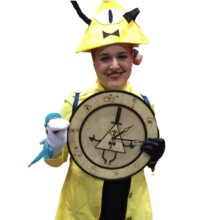 Gravity Falls Clock Cosplayer
