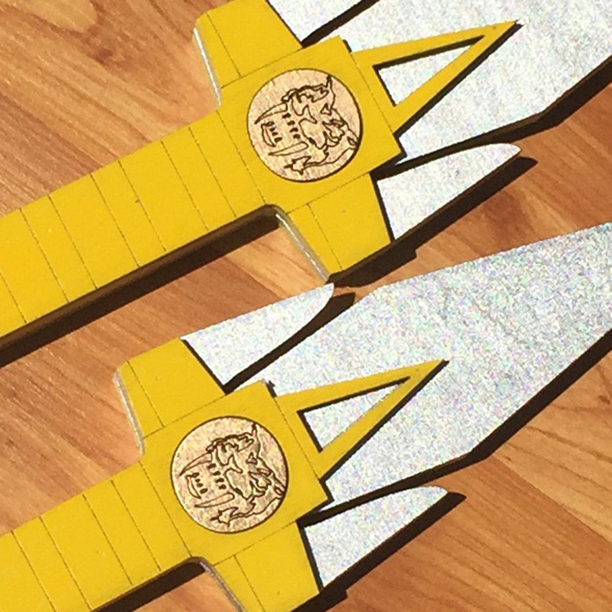 Yellow Ranger Dagger (x2), Power Ranger Cosplay Replicas | Altruistic