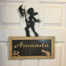 Personalized Nerdy Plaques