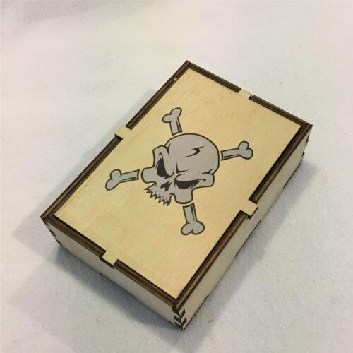 Skull & Bones Dice Box