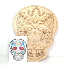 Sugar Skull coloring or painting