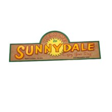 Sunnydale Sign from Buffy the Vampire Slayer Show