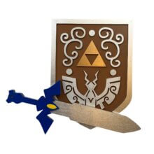 Windwaker Shield & Master Sword, Legend of Zelda