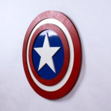 Captain America Shield Comic Book Edition
