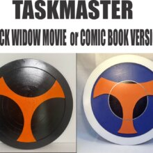 Taskmaster Movie and Comic Book Choices
