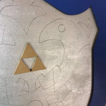 Mirror Shield Closeup pic from Legends of Zelda