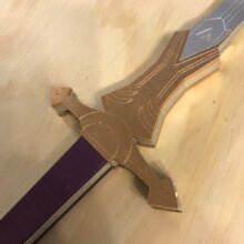 Twilight Princess Zelda Sword from Legend of Zelda