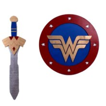 Wonder Woman Sword and Shield Set GOLD