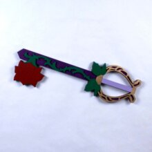 "31"" Divine Rose Keyblade   Cosplay Replica Costume Prop"