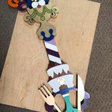"""31"""" Sweet Dreams Keyblade   Cosplay Replica Costume Prop"""