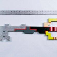 "31"" Zero One  Keyblade  Cosplay Replica Costume Prop"