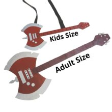 Kids or Adult Size Marceline Axe Guitar from Adventure Time