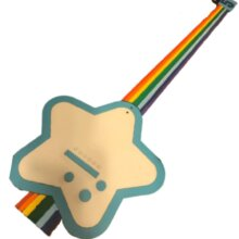 Rainbow Guitar from video game Space Channel 5
