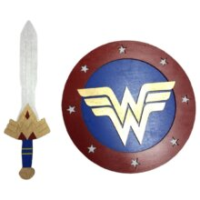 Wonder Woman Sword and Shield KIDS SET