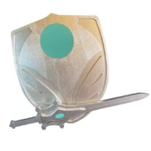 She-Ra Shield and Sword KIDS SIZE