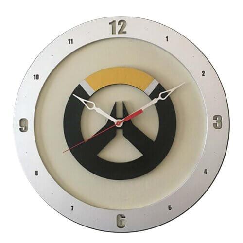 Overwatch Clock with Beige Background