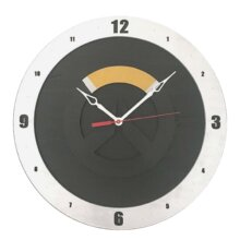 Overwatch Clock with Black Background
