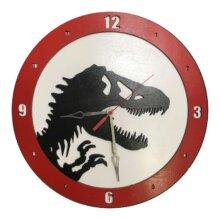 Jurassic Park Dinosaur Clock