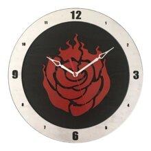 RWBY Build A Clock on Black Background