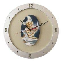 Sailor Moon Clock on Beige Background