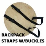 Shield Backpack Straps with Buckles