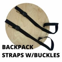 Backpack Straps w-Buckles