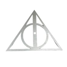 Deathly Hallows Clock or Wreath Art Inserts