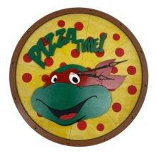 TMNT Pizza Time Raphael Clock