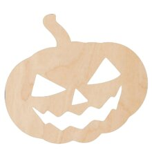 Pumpkin DIY Unfinished Wood Craft to color or paint