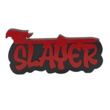Slayer Graffiti style free standing block words