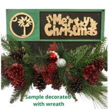 Christmas Wreath Rails